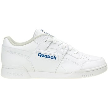 Skor Herr Sneakers Reebok Sport Workout Plus Vit