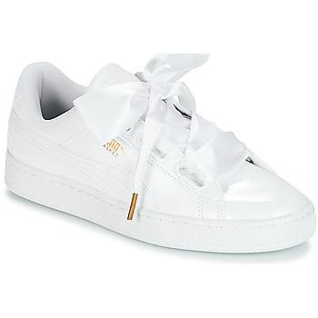 super popular 6e47f 9cb15 Skor Dam Sneakers Puma BASKET HEART PATENT WN S Vit