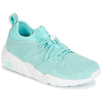 Skor Dam Sneakers Puma BLAZE OF GLORY SOFT WNS Blå / Vit