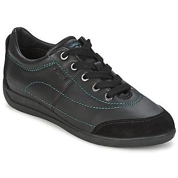 Skor Dam Sneakers Geox MYRIA Svart