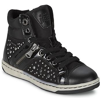Skor Flick Höga sneakers Geox CREAMY C Svart