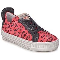 Skor Flick Sneakers Diesel JAKID Rosa / Leopard