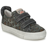 Skor Barn Sneakers Diesel JERMAN Grå / Leopard