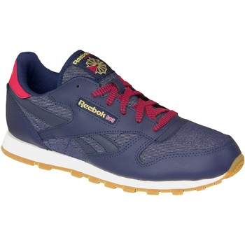 Skor Dam Sneakers Reebok Sport Classic Leather DG AR2042 Blue