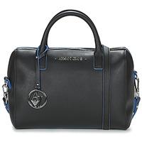 Väskor Dam Handväskor med kort rem Armani jeans FROGILO Svart
