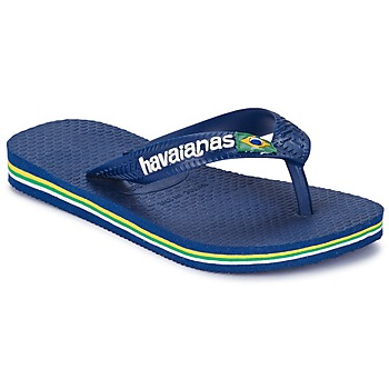 Skor Pojk Flip-flops Havaianas BRASIL LOGO Marin
