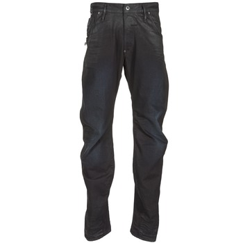 textil Herr Raka byxor G-Star Raw NEW ARC ZIP 3D Svart