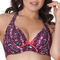 textil Dam Bikinibyxa / Bikini-bh Curvy Kate CS2921 CHERRY BERRY Violett