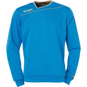 textil Pojkar Sweatshirts Kempa Sweat training enfant Gold bleu
