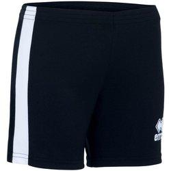 textil Dam Shorts / Bermudas Errea Short femme  Amazon noir/blanc