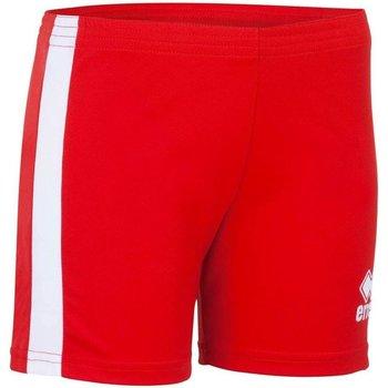 textil Dam Shorts / Bermudas Errea Short femme  Amazon rouge/blanc