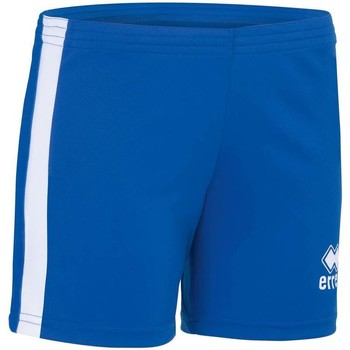 textil Flickor Shorts / Bermudas Errea Short femme enfant  Amazon bleu marine/jaune