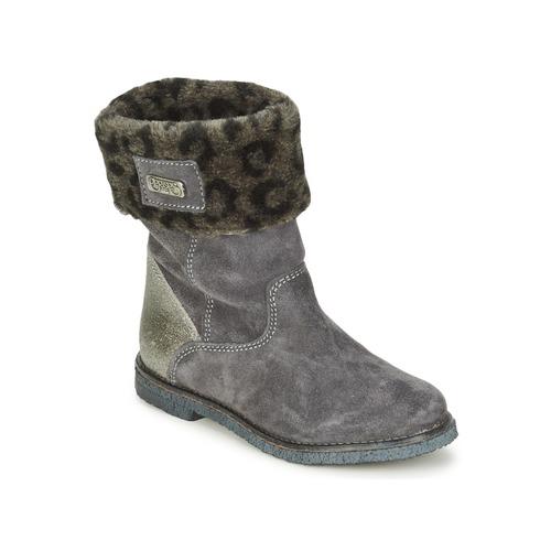 Skor Flickor Boots Le Temps des Cerises JUNIOR EVA Grå