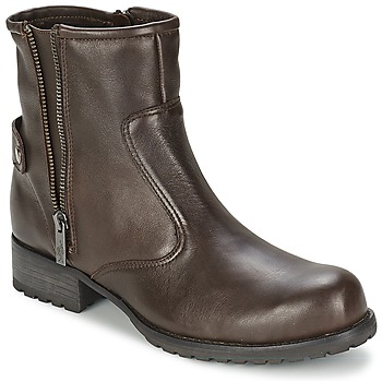 Skor Dam Boots One Step IAGO Choklad