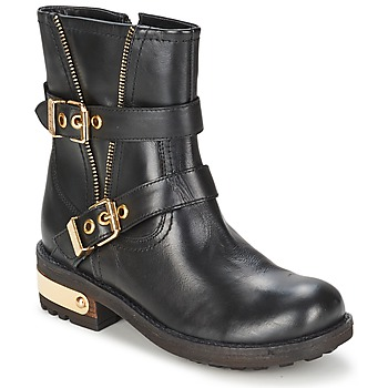 Skor Dam Boots Elle RASPAIL Svart