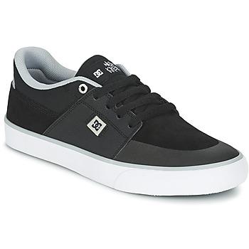 Skor Herr Sneakers DC Shoes WES KREMER M SHOE XKSW Svart / Grå / Vit