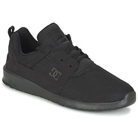 Skor Herr Sneakers DC Shoes HEATHROW M SHOE 3BK Svart