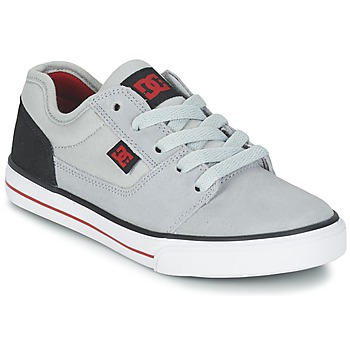 Skor Pojk Sneakers DC Shoes TONIK B SHOE XSKR Grå / Svart / Röd