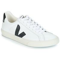 Skor Sneakers Veja ESPLAR LOW LOGO Vit / Svart