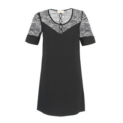 textil Dam Korta klänningar Moony Mood FUFU Svart