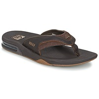 Skor Herr Flip-flops Reef LEATHER FANNING Brun