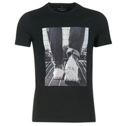 textil Herr T-shirts Armani jeans JANADORI Svart