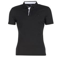 textil Herr Kortärmade pikétröjor Armani jeans MEDIFOLA Svart