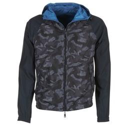 textil Herr Vindjackor Armani jeans MIRACOLA Grå