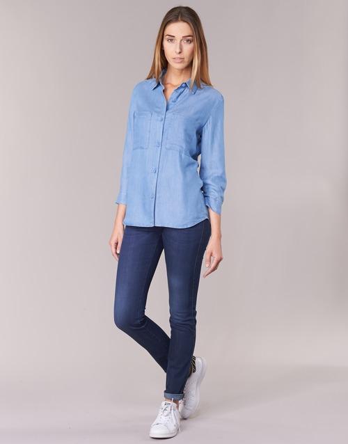 textil Dam Skinny Jeans Armani jeans HERTION Blå