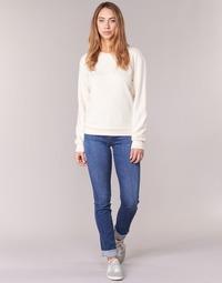 textil Dam Raka byxor Armani jeans HOUKITI Blå