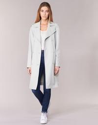 textil Dam Trenchcoats Armani jeans HAVANOMA Vit