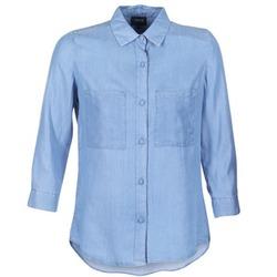 textil Dam Skjortor / Blusar Armani jeans OUSKILA Blå