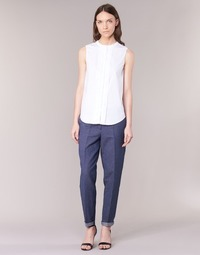 textil Dam 5-ficksbyxor Armani jeans JAFLORE Blå