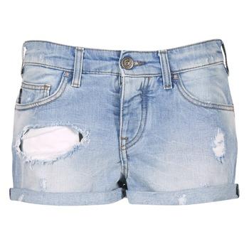 textil Dam Shorts / Bermudas Armani jeans JUTELAPO Blå