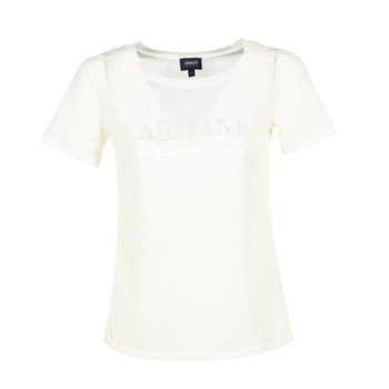 textil Dam T-shirts Armani jeans KAJOLA Vit