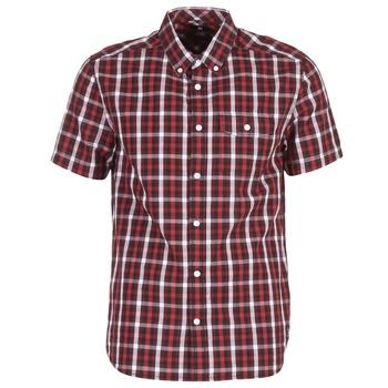 textil Herr Kortärmade skjortor DC Shoes ATURA 5 SS Röd