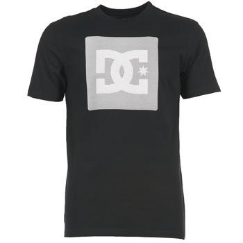 textil Herr T-shirts DC Shoes VARIATION SS Svart / Grå / Vit