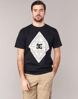 textil Herr T-shirts DC Shoes LONG DAY SS Svart