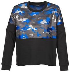 textil Dam Sweatshirts Eleven Paris FORTEX Svart / Blå