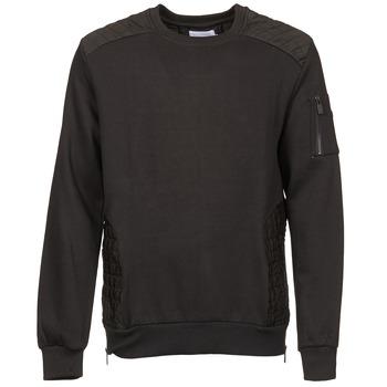 textil Herr Sweatshirts Eleven Paris KOUK Svart