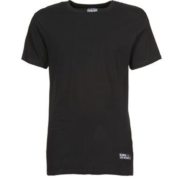 textil Herr T-shirts Eleven Paris HALIF Svart