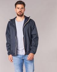 textil Vår/höstjackor K-Way LE VRAI CLAUDE 3.0 Marin