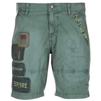 textil Herr Shorts / Bermudas Napapijri NARWEE Kaki