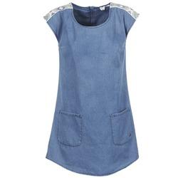 textil Dam Korta klänningar Roxy AFTERSURFING Blå