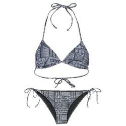 textil Dam Bikini Roxy DOLTY Svart / Vit