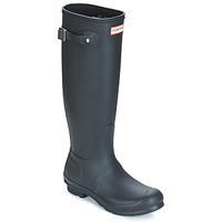 Skor Dam Gummistövlar Hunter WOMEN'S ORIGINAL TALL Svart