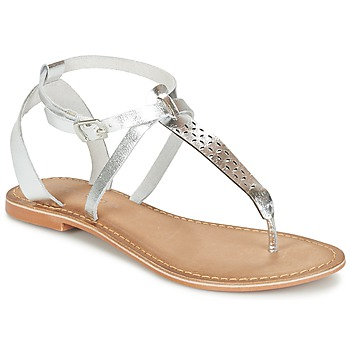 Skor Dam Sandaler Vero Moda VMANNELI LEATHER SANDAL Silver