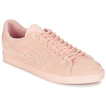 Skor Dam Sneakers Le Coq Sportif CHARLINE NUBUCK Rosa