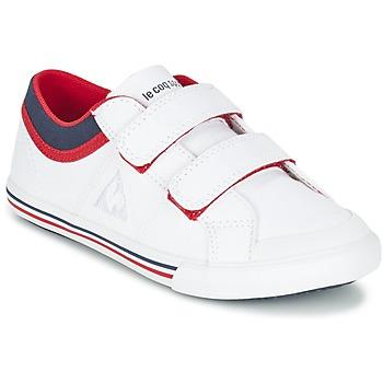 Skor Pojk Sneakers Le Coq Sportif SAINT GAETAN PS CVS Vit / Röd