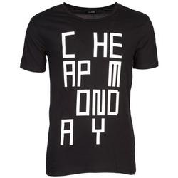 textil Herr T-shirts Cheap Monday TYLER Svart